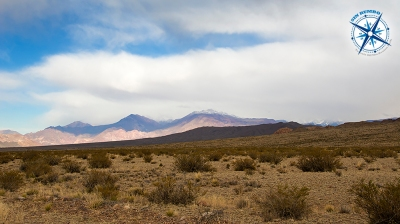 The high desert south of Uspallata, Mendoza