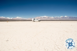 Our truck in the Barreal Blanco