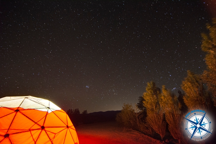 The night sky at park El Leoncito, an ideal place for star gazing.