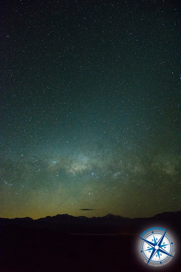 Here in park El Leoncito the milky way is seen low to the western horizon.