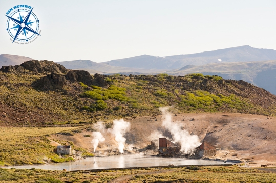 Hot springs near Copahue