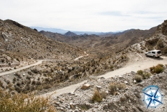 Heading down towards Uspallata RP13 Mendoza - Uspallata