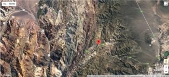Map RP13 Mendoza - Uspallata