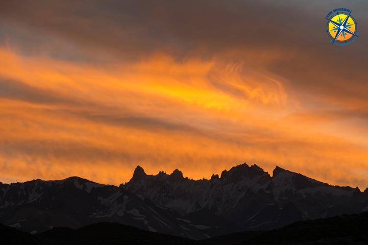 Sunset at the Laguna Del Diamante, Mendoza, Argentina