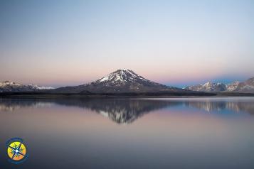Sunrise at the Laguna Del Diamante, Mendoza, Argentina
