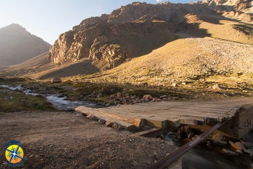 Wildcamp at 3100m above Manzano Historico, Mendoza.