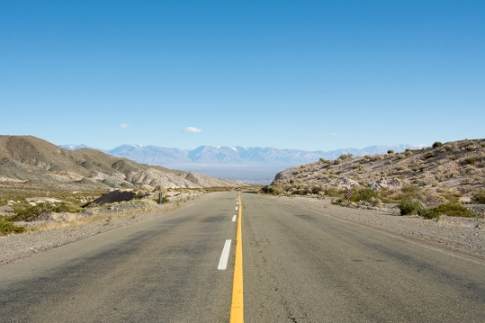 Back on the pavement on Ruta 149. Eventually this road will go over the mountains in the distance and enter Chile.