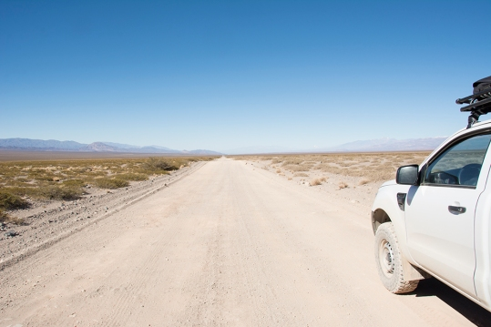 Now heading back south again. Argentina is a BIG country. There is at least the same distance of gravel behind!