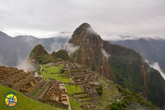 Machu Picchu the cloud city, Peru.