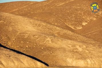 Geoglyphs of Chug Chug, Calama, Chile.